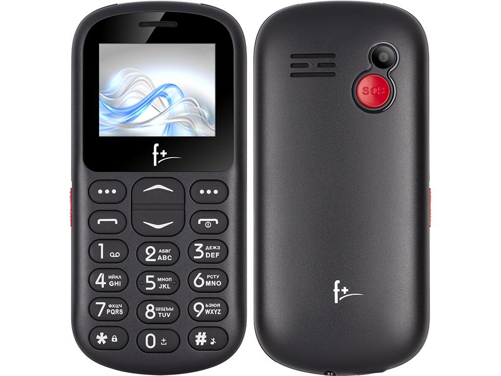 Сотовый телефон F+ Ezzy3 Black