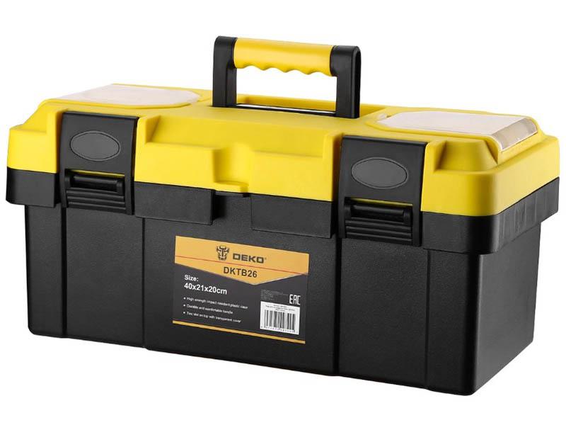 Ящик для инструментов Deko DKTB26 40x21x20cm 065-0831 ящик для инструментов deko dktb34 065 0839