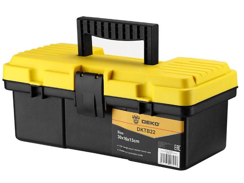 Ящик для инструментов Deko DKTB22 30x16x13cm 065-0827 ящик для инструментов deko dktb34 065 0839
