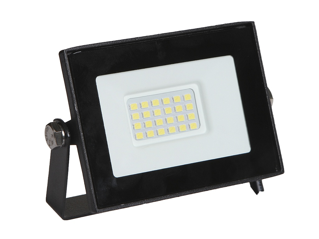 Прожектор ELF Slim SMD 10W IP65 Black ELF-FLsmdSLIM-10W-black-W