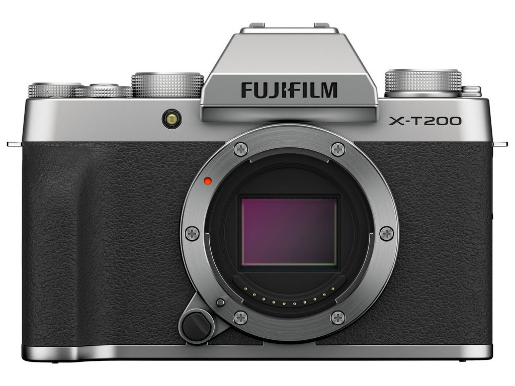 Фотоаппарат Fujifilm X-T200 Body Silver фотоаппарат fujifilm finepix xp140 dark silver