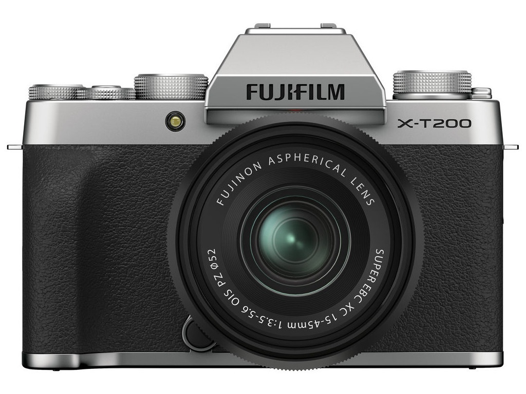 Фотоаппарат Fujifilm X-T200 Kit 15-45mm Silver