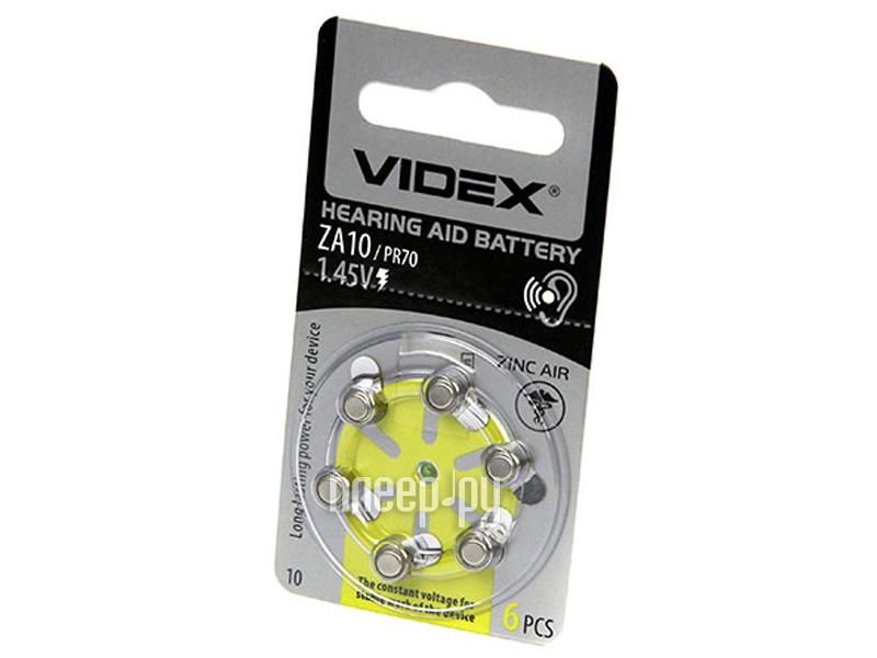 Батарейка PR70 - Videx ZA10 6BL (6 штук)