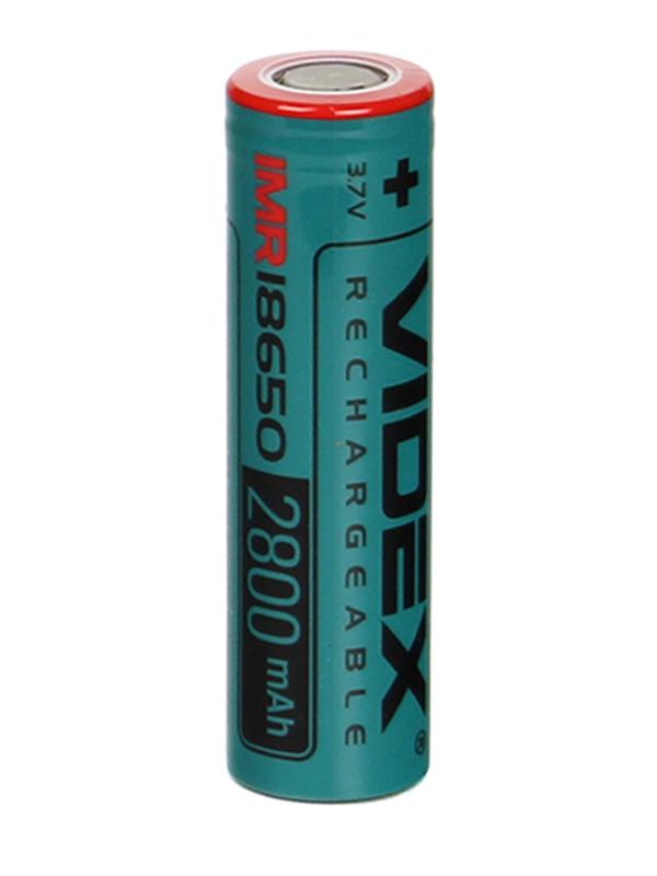 Аккумулятор IMR18650 - Videx 2800mAh VID-IMR18650-2.8-NP (1 штука)