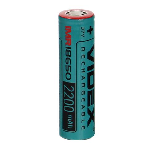 Аккумулятор IMR18650 - Videx 2200mAh VID-IMR18650-2.2-NP (1 штука)