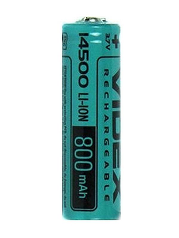Аккумулятор 14500 - Videx 800mAh 3.7V VID-14500-0.8-NP (1 штука)