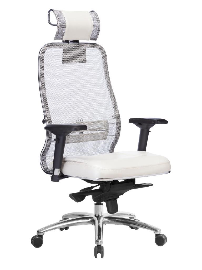 Компьютерное кресло Метта Samurai SL-3.04 White Swan