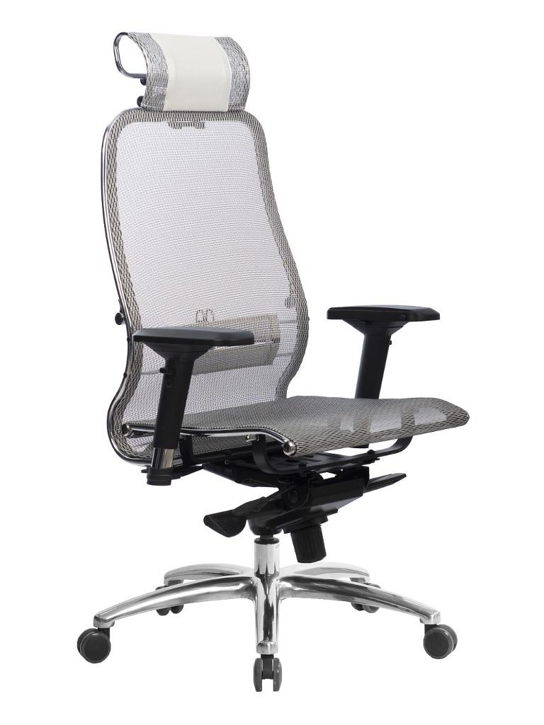Компьютерное кресло Метта Samurai S-3.04 White Swan