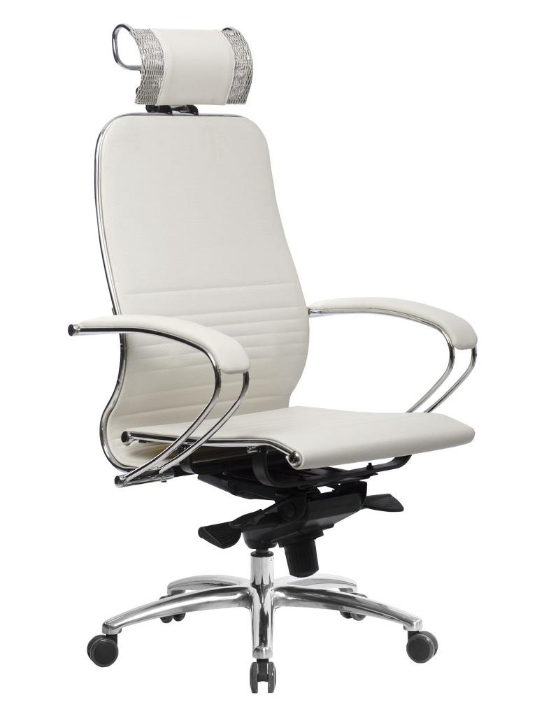 Компьютерное кресло Метта Samurai K-2.04 White Swan