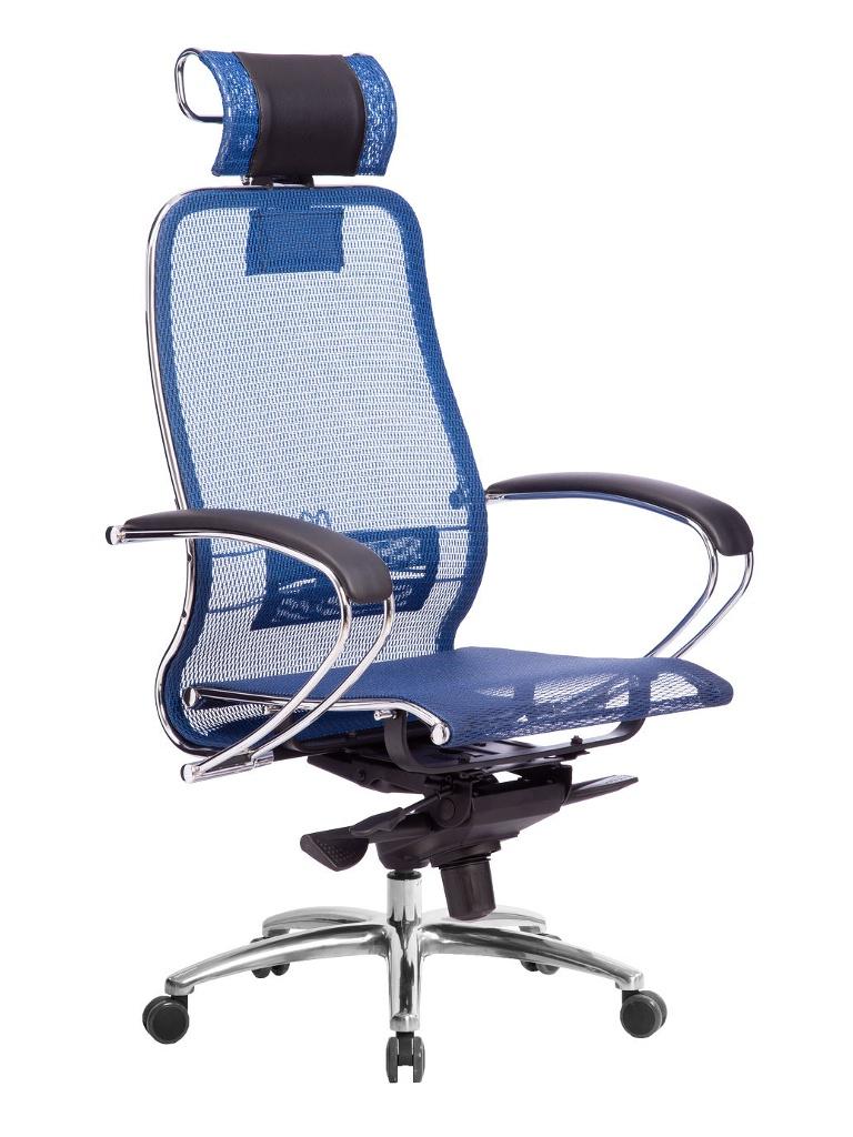 Компьютерное кресло Метта Samurai S-2.04 Blue