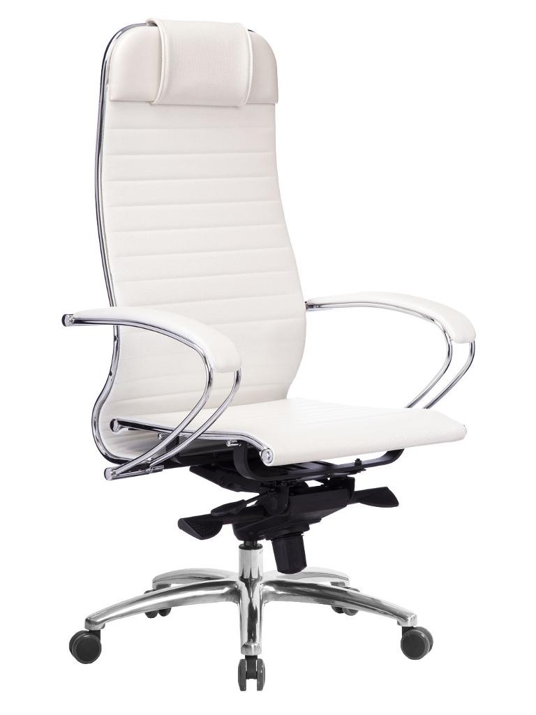 Компьютерное кресло Метта Samurai K-1.04 White Swan