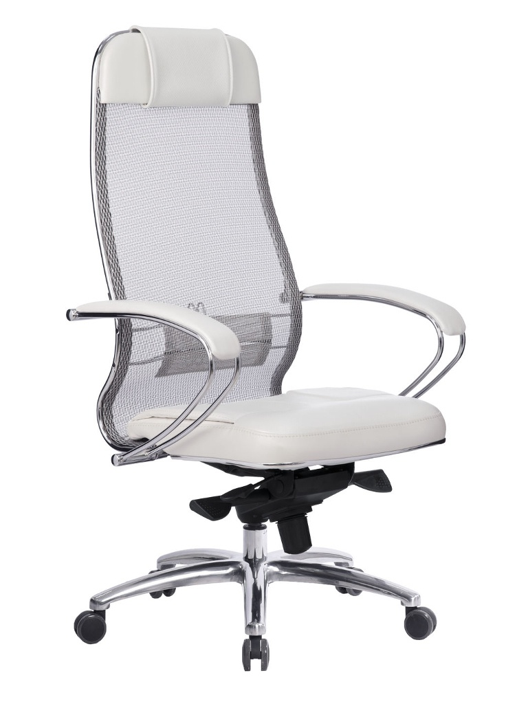 Компьютерное кресло Метта Samurai SL-1.04 White Swan