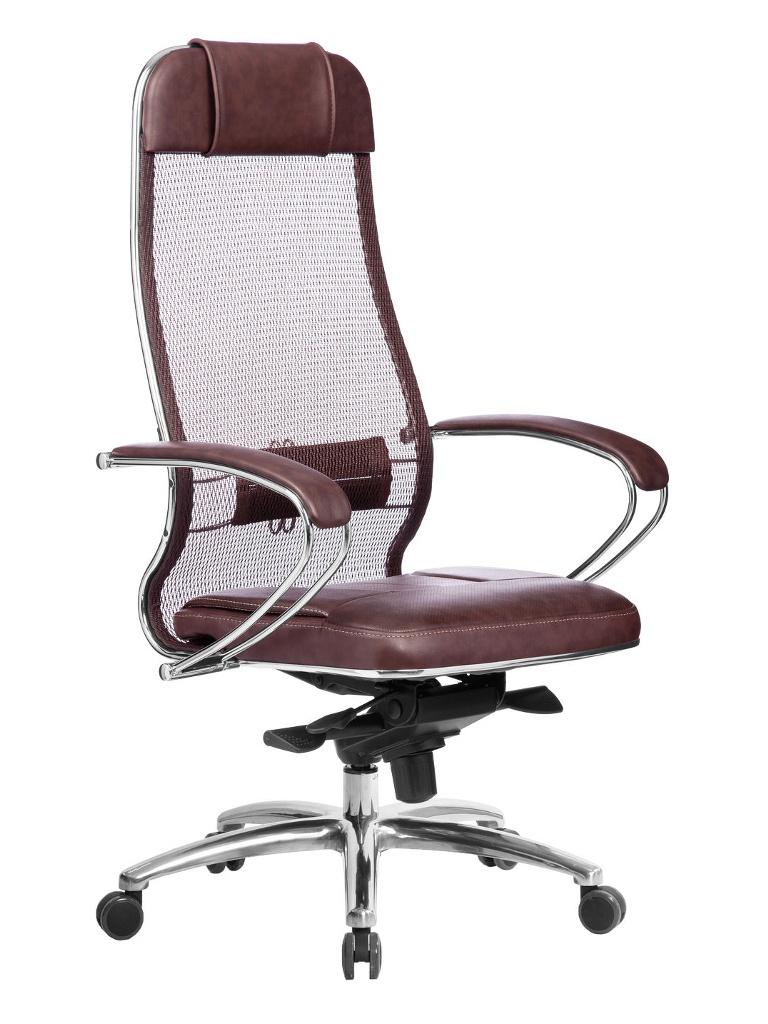 Компьютерное кресло Метта Samurai SL-1.04 Dark Brown