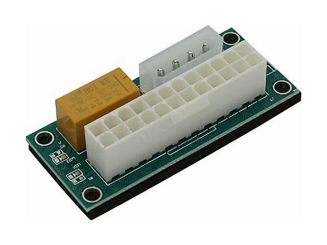 Аксессуар Синхронизатор блоков питания KS-is Add2PSU ATX 24pin KS-345