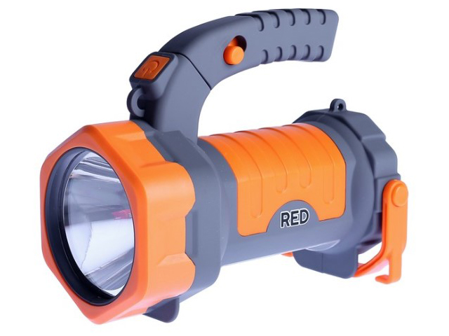 Фонарь Красная цена Red 5066 4606400625247 фонарь красная цена 5388 аккумуляторный 9led 2режима 5 9 встр вилка для прямой зарядки от 220в