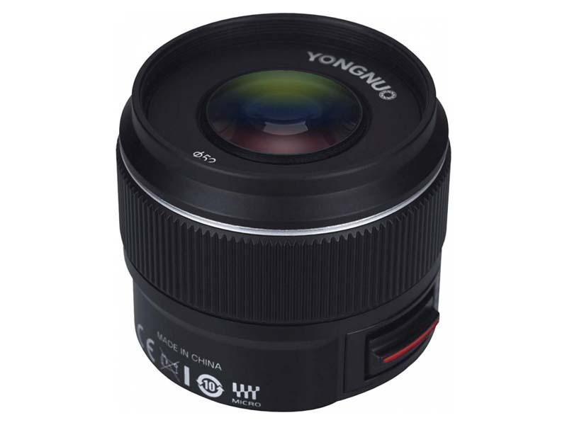 Объектив Yongnuo Micro 4/3 42.5mm f/1.7 MFT YN45MMF17