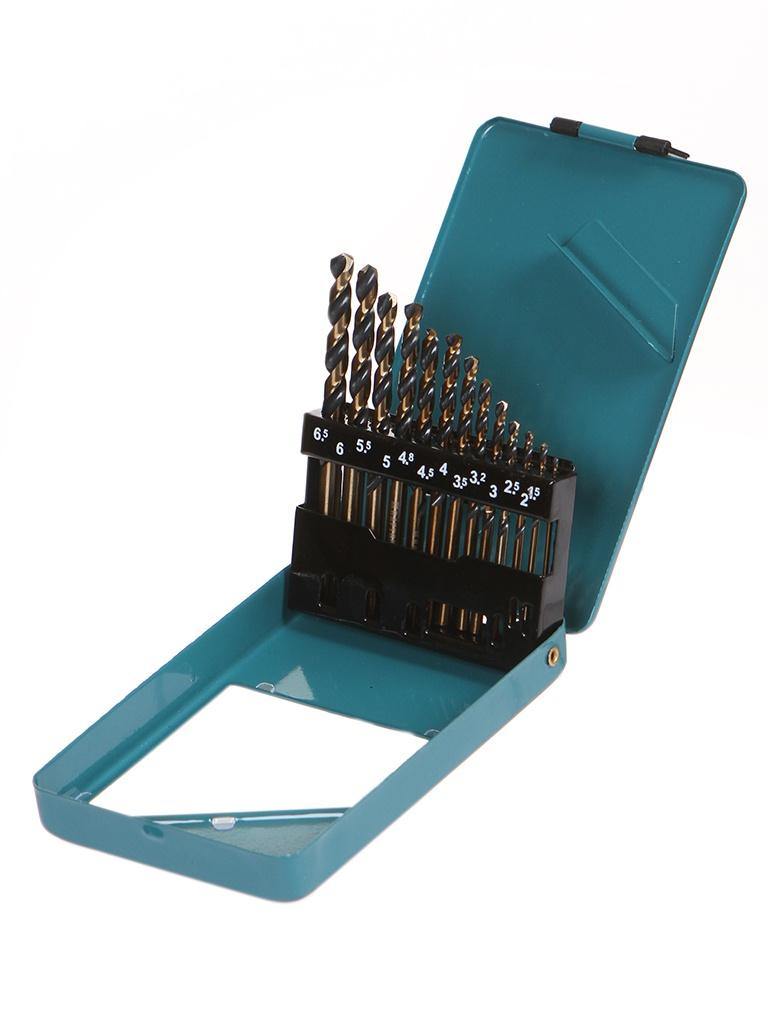 Набор сверл Kraftool Cobalt по металлу 1.5-6.5mm 13шт 29656-H13
