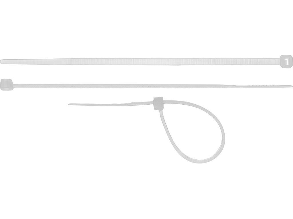 Хомуты-стяжки нейлоновые Сибин ХС-Б 4.8x500mm 100шт 3786-48-500