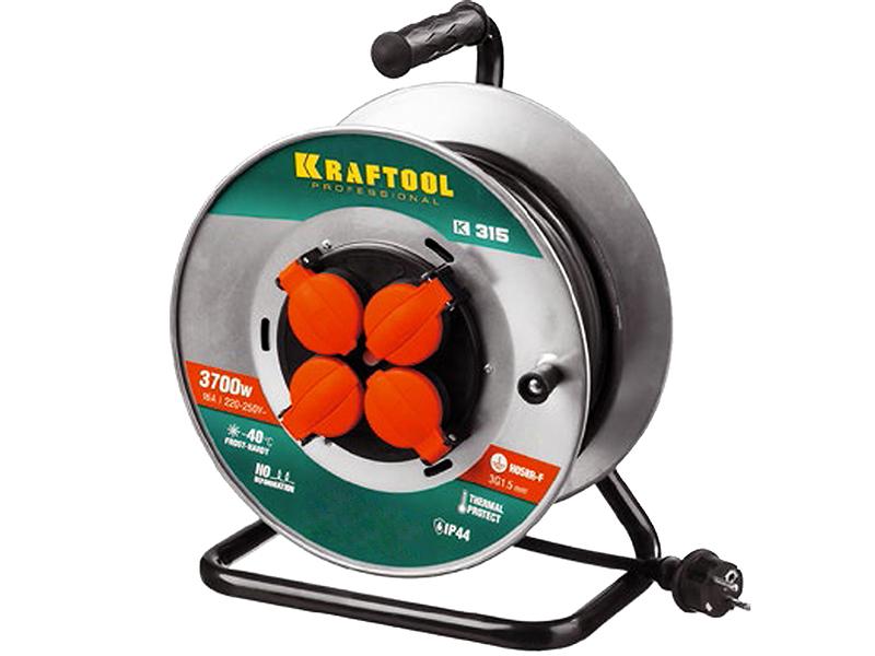 Удлинитель Kraftool К-315 55085-50 / z01 сумка для инструмента kraftool 38713 16 z01
