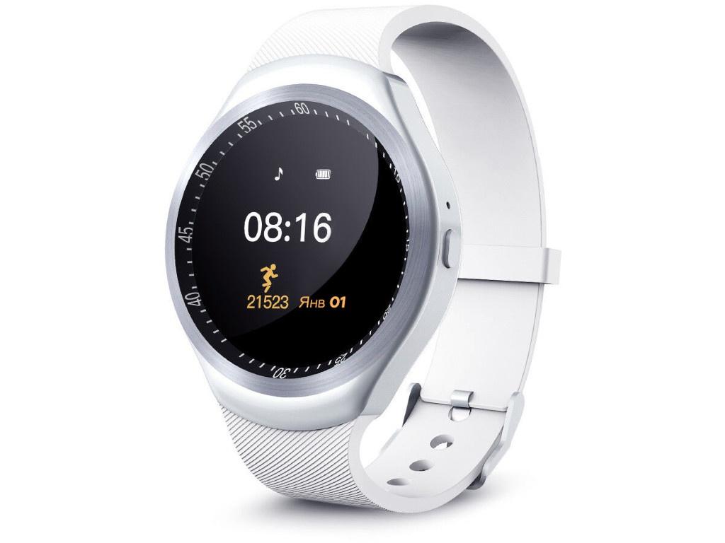 Умные часы Smarterra SmartLife R SM-SLRNDWT smarterra smartlife kids light blue sm slkb