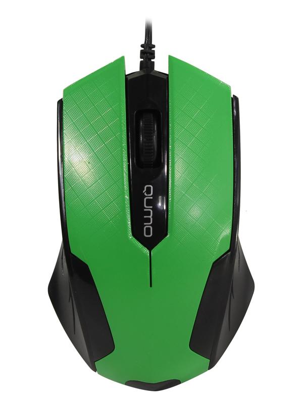 Мышь Qumo Office M14 Green 24133