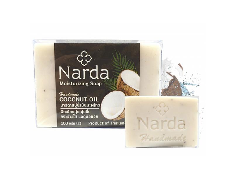 Средство для ухода за телом Narda Lee Мыло с кокосовым маслом 100g 0045