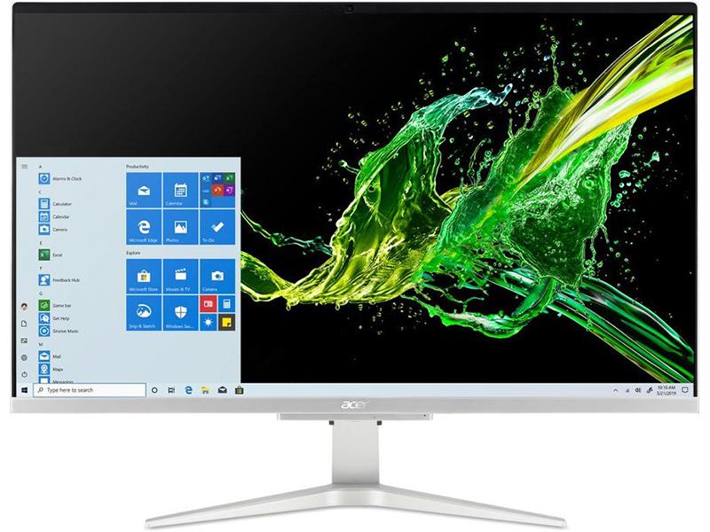 Моноблок Acer Aspire C27-962 DQ.BDQER.005 (Intel Core i3-1005G1 1.2 GHz/4096Mb/256Gb SSD/nVidia GeForce MX130 2048Mb/Wi-Fi/Bluetooth/27.0/1920x1080/Windows 10 Home 64-bit)