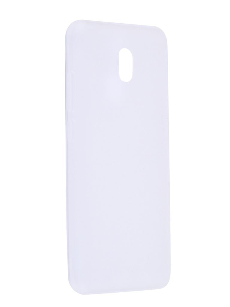 Чехол Antibacterial Case для Xiaomi Redmi 8A TPU Ag+ с антибактериальным эффектом 1mm Matt Transparent AC2071X802M