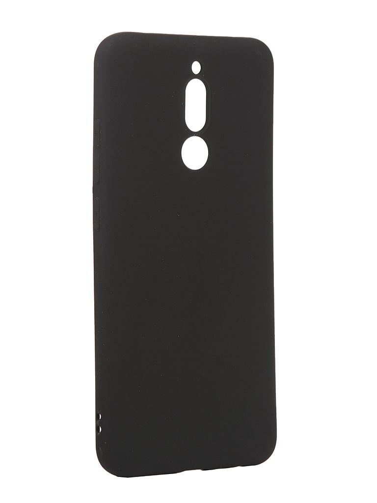 Чехол Antibacterial Case для Xiaomi Redmi 8 TPU Ag+ с антибактериальным эффектом 1mm Black AC2071X801K