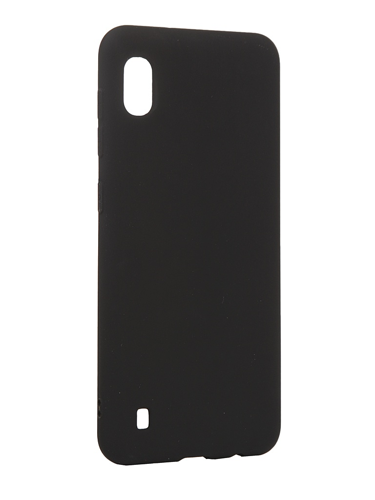 Чехол Antibacterial Case для Samsung Galaxy A10 TPU Ag+ с антибактериальным эффектом 1mm Black AC2071S101K