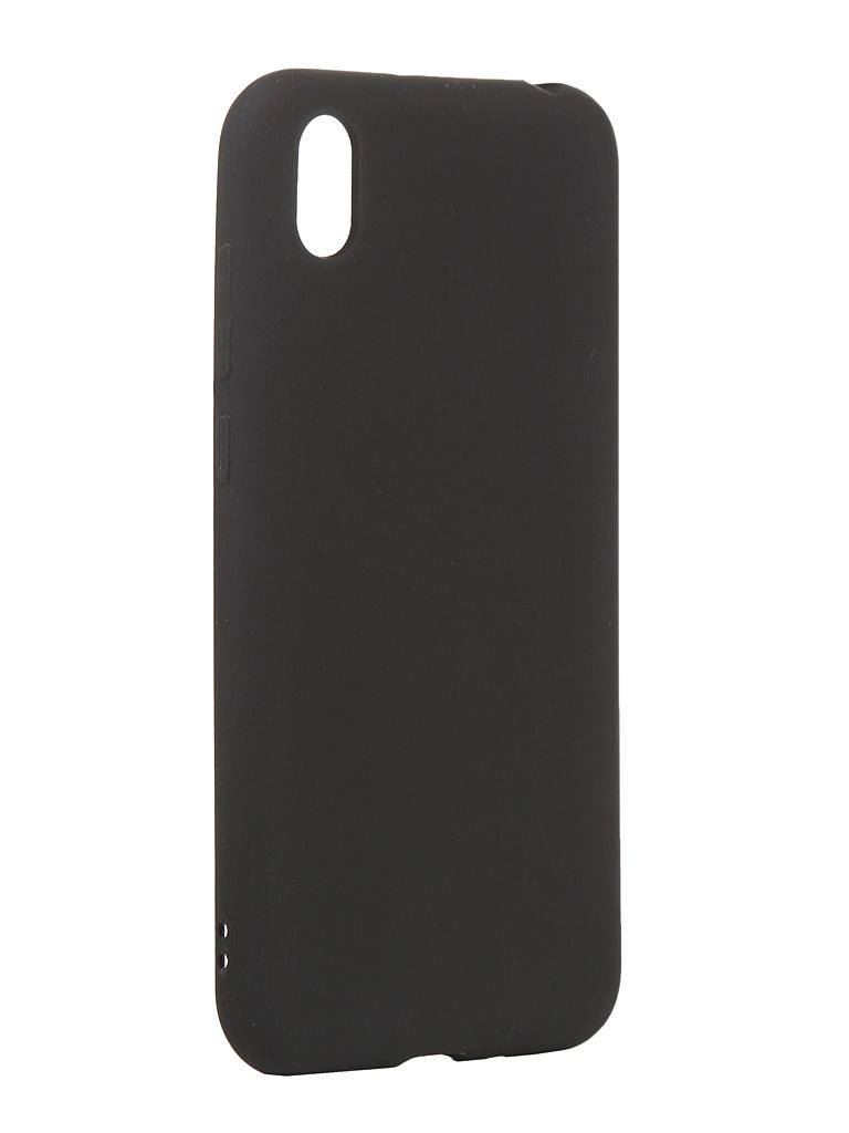 Чехол Antibacterial Case для Huawei Honor 8S \ Y5 2019 TPU Ag+ с антибактериальным эффектом 1mm Black AC2071H805K