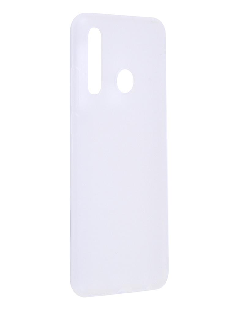 Чехол Antibacterial Case для Huawei Honor 10i TPU Ag+ с антибактериальным эффектом 1mm Matt Transparent AC2071H102M
