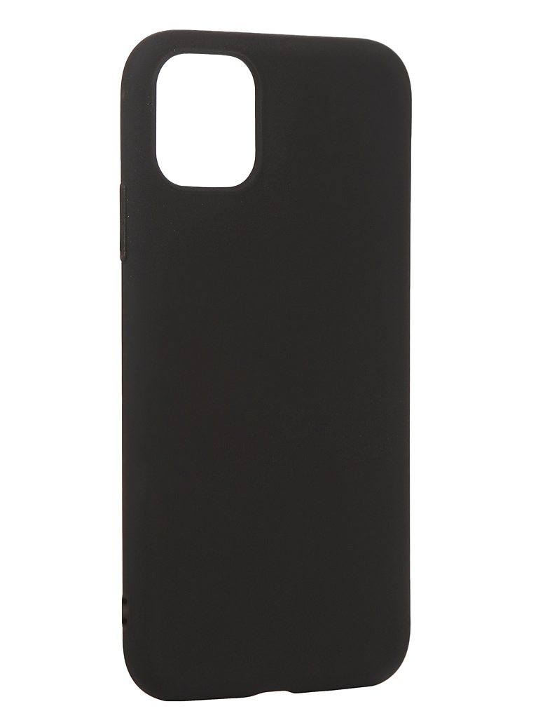 Чехол Antibacterial Case для APPLE iPhone 11 TPU Ag+ с антибактериальным эффектом 1mm Black AC2071P111K
