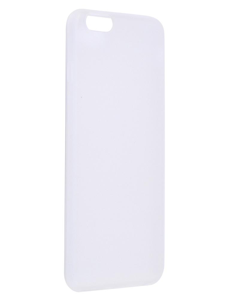Чехол Antibacterial Case для APPLE iPhone 8 Plus \ 7 TPU Ag+ с антибактериальным эффектом 1mm Matt Transparent AC2071P812M