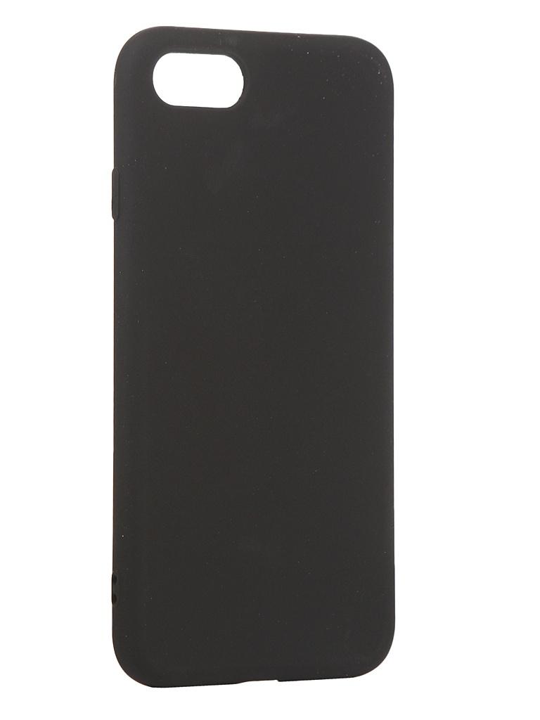 Чехол Antibacterial Case для APPLE iPhone 8 \ 7 SE 2020 TPU Ag+ с антибактериальным эффектом 1mm Black AC2071P811K