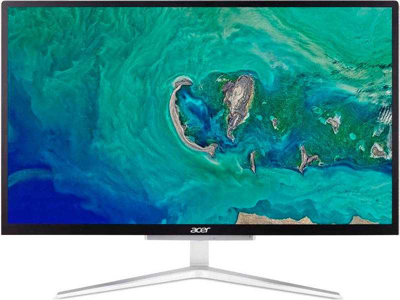 Моноблок Acer Aspire C22-820 DQ.BDXER.004 (Intel Celeron J4025 2.0 GHz/4096Mb/128Gb SSD/Intel UHD Graphics/Wi-Fi/Bluetooth/21.5/1920x1080/Windows 10 Home 64-bit)
