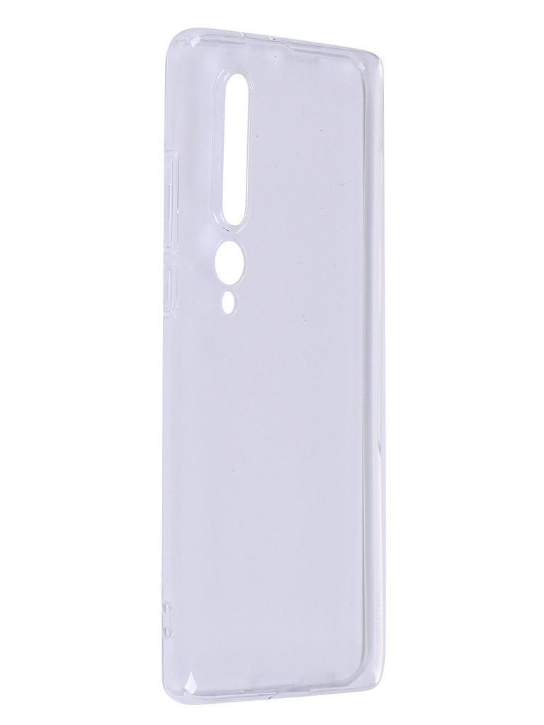 Чехол Zibelino для Xiaomi Mi10 Ultra Thin Case Transparent ZUTC-XMI-MI10-WHT