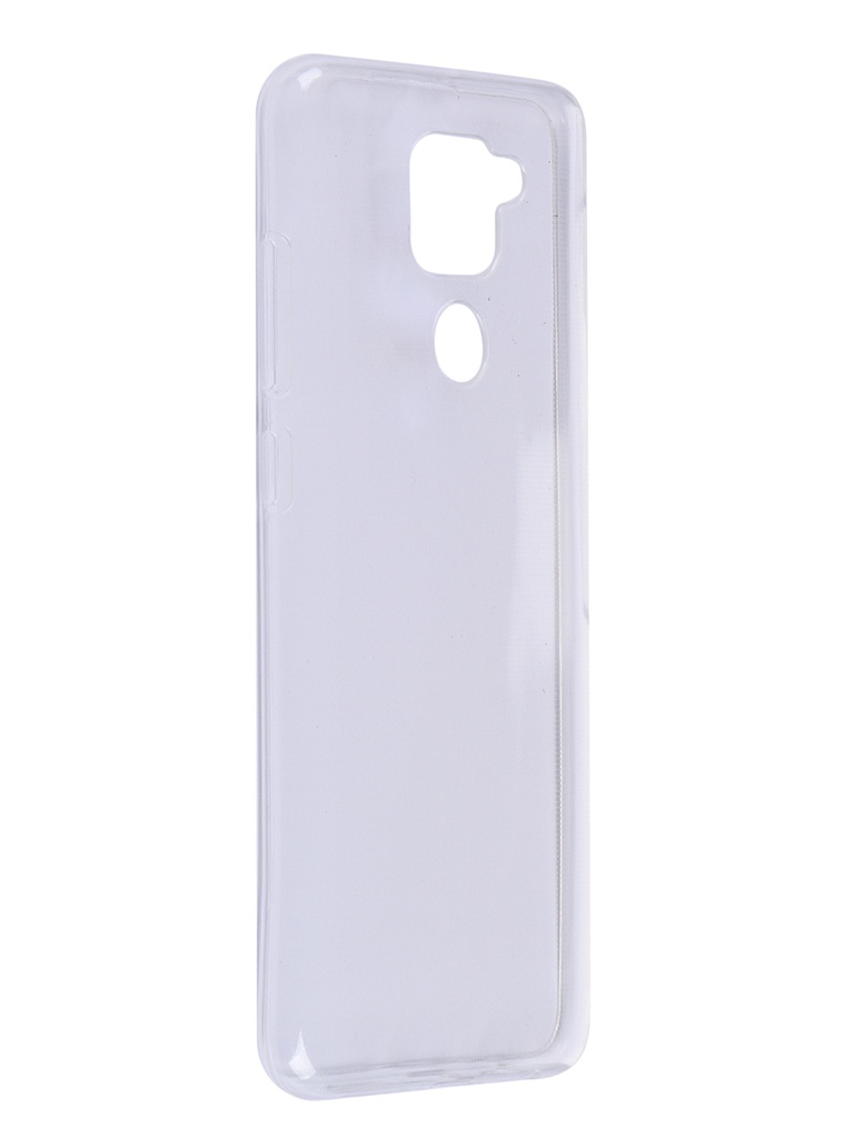 Чехол Zibelino для Xiaomi Redmi Note 9 Ultra Thin Case Transparent ZUTC-XMI-RDM-NOT9-WHT