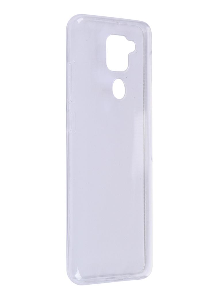 Чехол Zibelino для Xiaomi Redmi Note 9 Ultra Thin Case Transparent ZUTC-XMI-RDM-NOT9-WHT