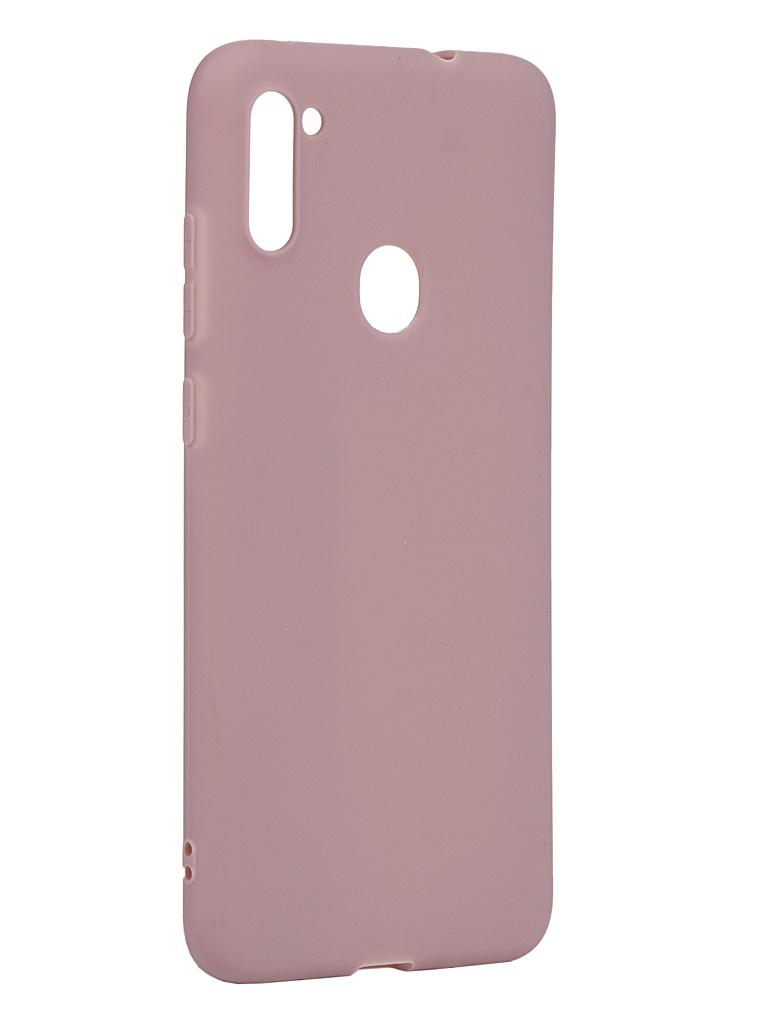 Чехол Zibelino для Samsung Galaxy A11/M11 A115/M115 Soft Matte Dusty Pink ZSM-SAM-A11-DRS