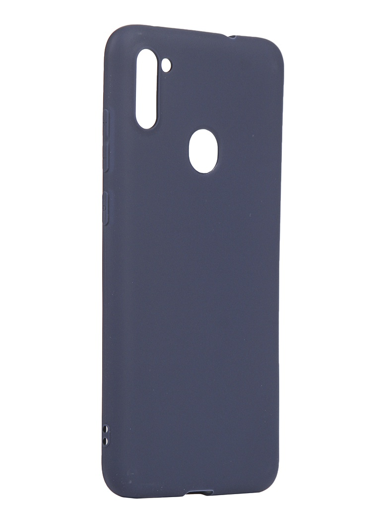 Чехол Zibelino для Samsung Galaxy A11/M11 A115/M115 Soft Matte Blue ZSM-SAM-A11-DBLU