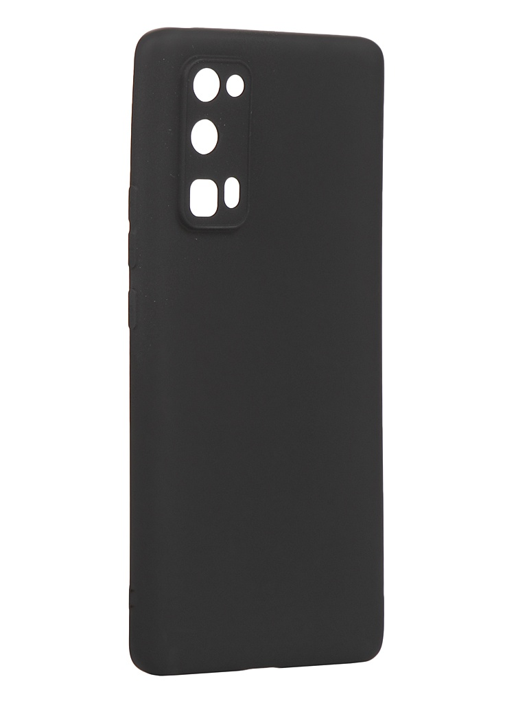 Чехол Zibelino для Honor 30 Pro Soft Matte Black ZSM-HUA-30-PRO-BLK