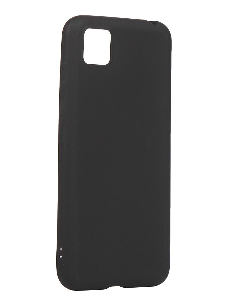Чехол Zibelino для Honor 9S / Huawei Y5p Soft Matte Black ZSM-HUA-9S-BLK
