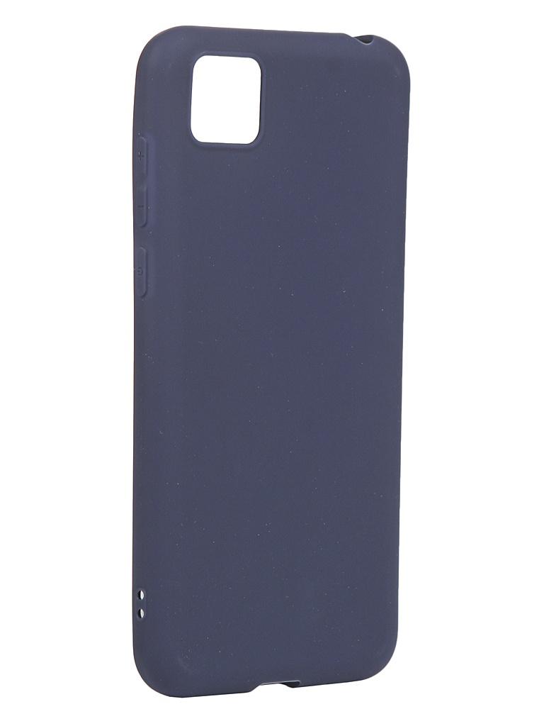 Чехол Zibelino для Honor 9S / Huawei Y5p Soft Matte Blue ZSM-HUA-9S-DBLU