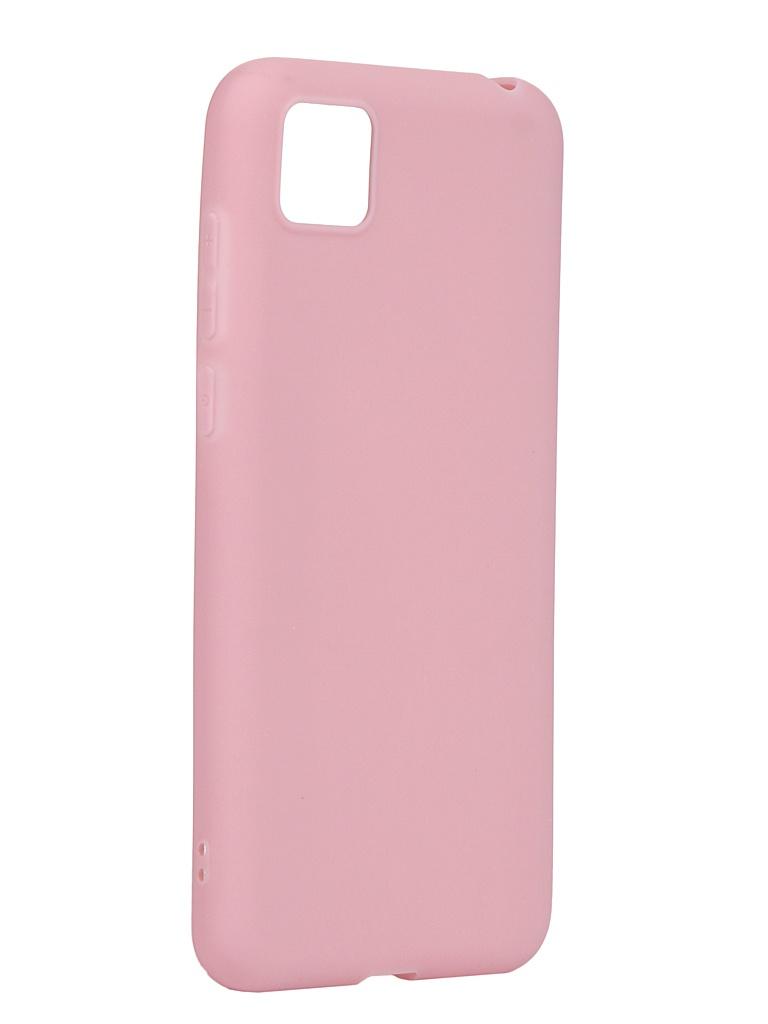 Чехол Zibelino для Honor 9S / Huawei Y5p Soft Matte Pink ZSM-HUA-9S-PNK