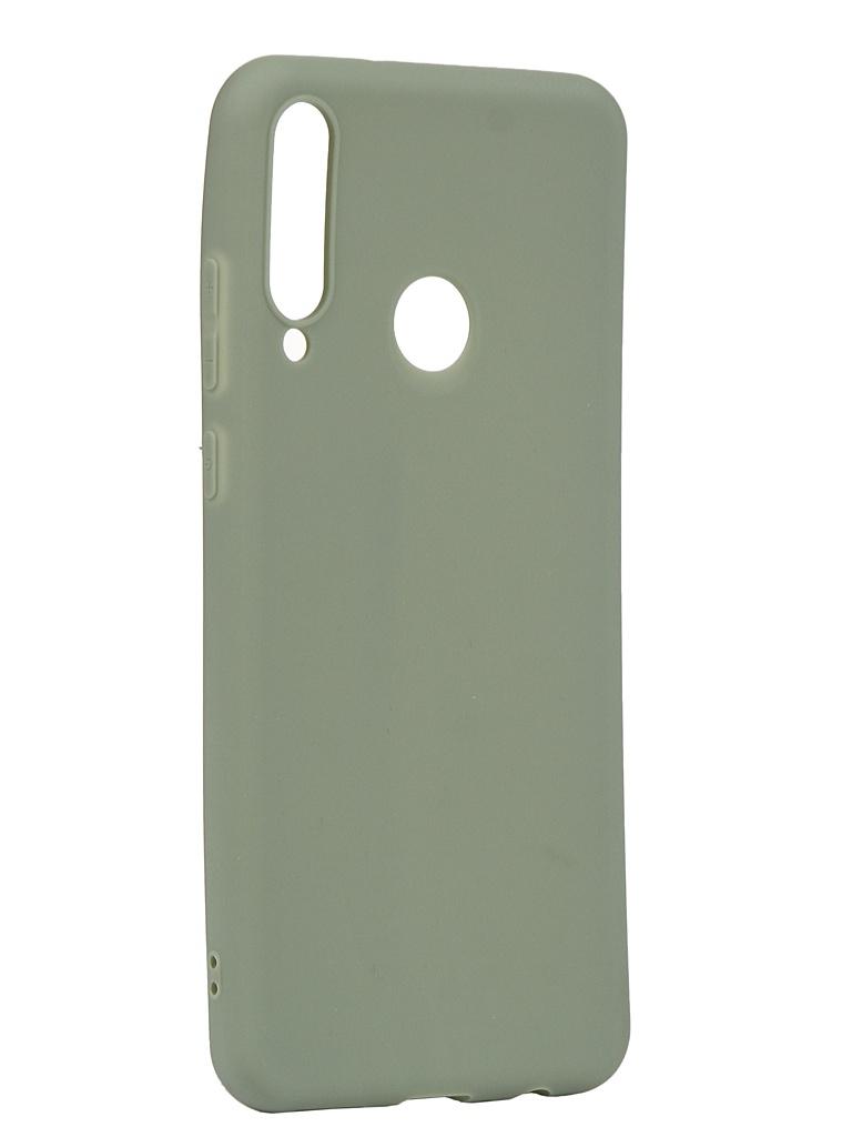 Чехол Zibelino для Huawei Y6p Soft Matte Olive ZSM-HUA-Y6P-OLV