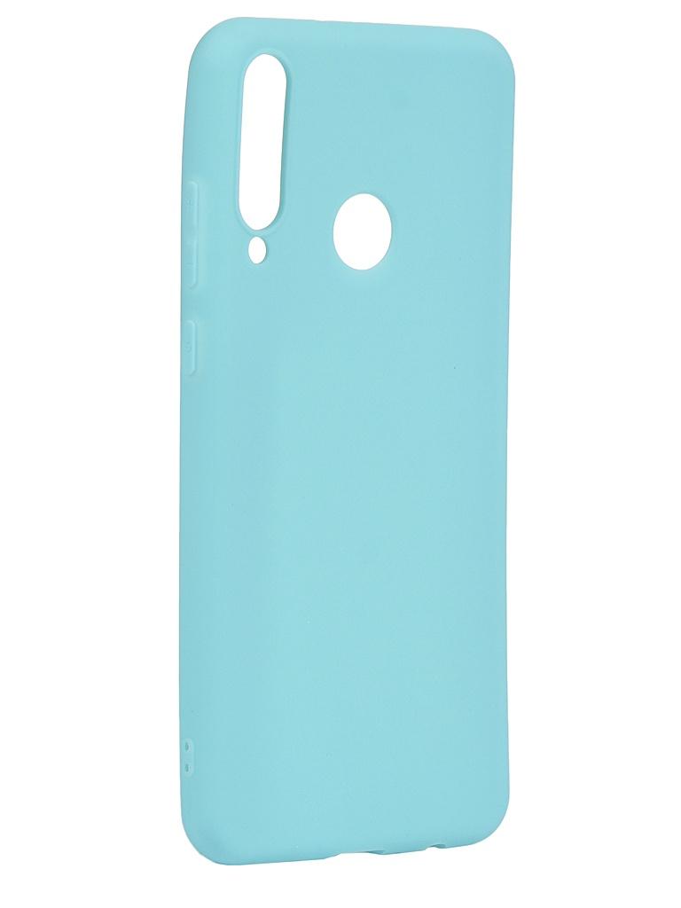 Чехол Zibelino для Huawei Y6p Soft Matte Turquoise ZSM-HUA-Y6P-TQS