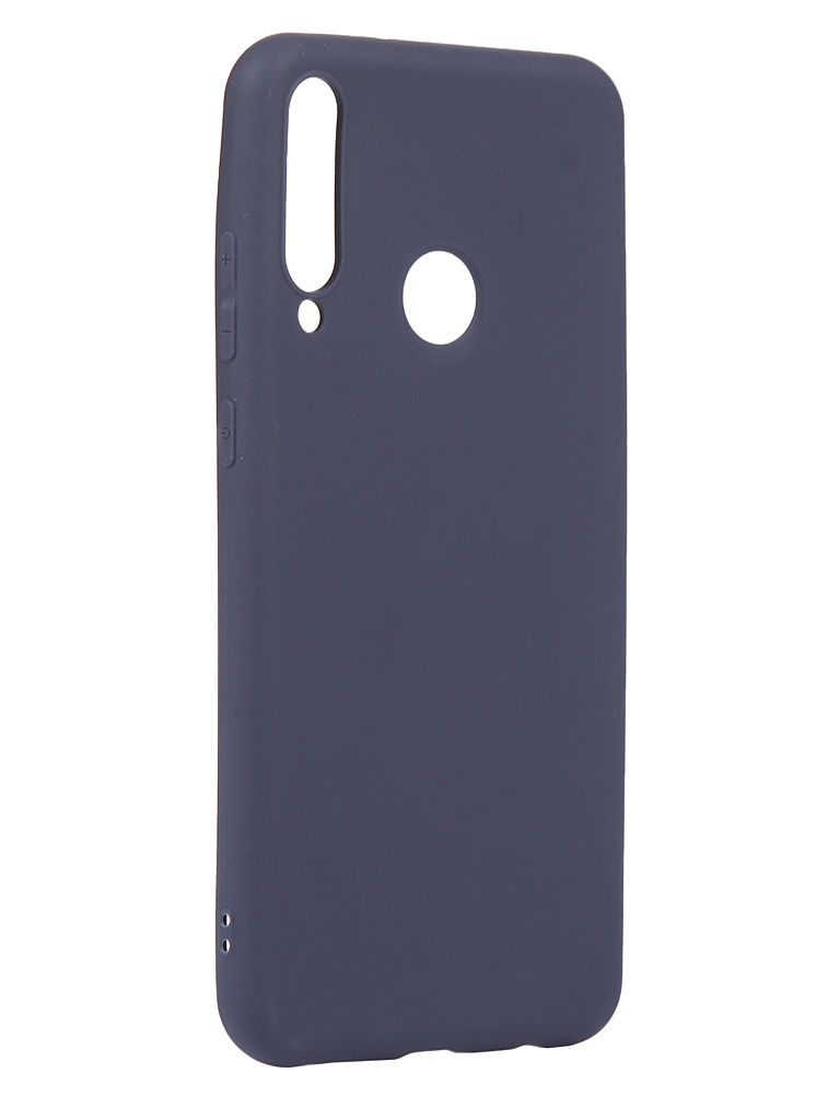 Чехол Zibelino для Huawei Y6p Soft Matte Blue ZSM-HUA-Y6P-DBLU