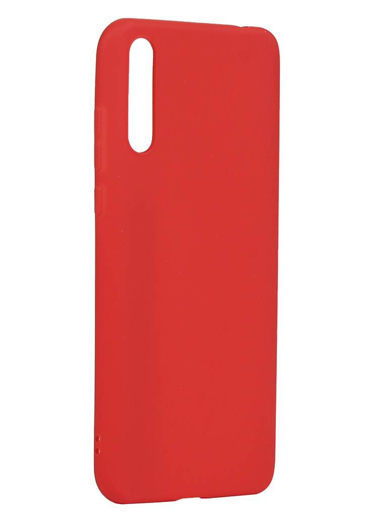 Чехол Zibelino для Huawei Y8p Soft Matte Red ZSM-HUA-Y8P-RED