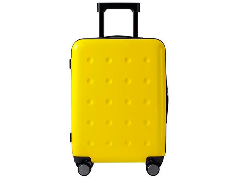 Чемодан Xiaomi Ninetygo Polka Dots Luggage 24 Yellow